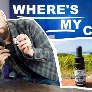Boring man sent Endoca CBD to the Lab. It was missing…