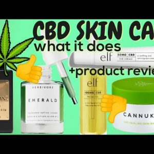 CBD Skin Care! Game Changer or Gimmick?