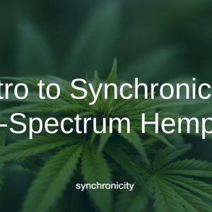 Intro to Synchronicity Full-Spectrum Hemp Oil