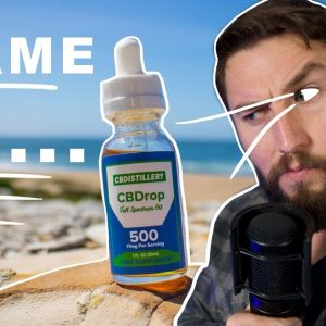 Is CBDistillery Real? I sent it to a lab. Plus CBD review.