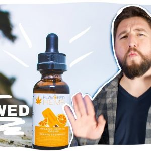 Is Flavored Hemp Real? I sent it to a lab. CBD review.