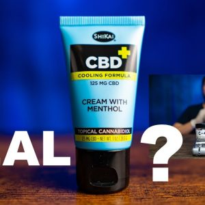 Is Shikai Cream with Menthol REAL? See the new LAB TESTS and CBD review.