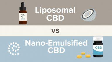 Liposomal CBD vs Nano-Emulsified CBD