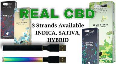 CBD Carts, 3 strands available, INDICA, SATIVA, HYBRID, in Popular Flavors | CBD Headquarters