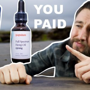 Populum CBD review and lab test, I PAID what?