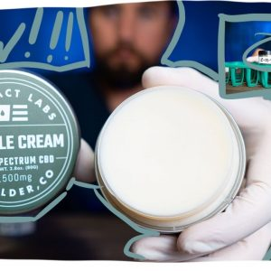 The Best CBD Cream? Extract Labs Muscle Cream, LAB TESTS, plus CBD review.