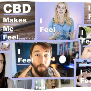 What does CBD feel like? According to Youtube, Reddit, and surveys.