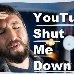 Youtube Shut Me Down because CBD