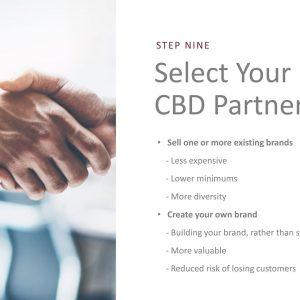 10 Steps to Start a CBD Business (9/10): Select Your CBD Partner