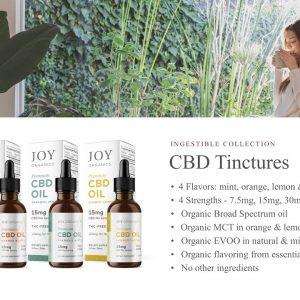Educational Series (18 of 31): Joy Organics CBD Tincture Oil Drops