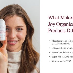 Educational Series (4 of 31): What Makes Joy Organics Products Different?