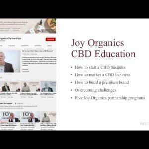 Joy Organics CBD - YouTube Channel Introduction