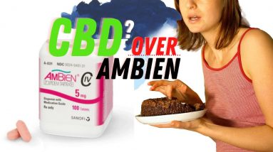 tackle sleep issues at night - THE BEST Ambien Alternative is CBD - and HERE'S WHY!